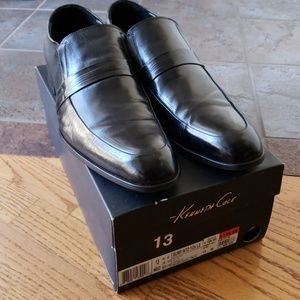 Kenneth Cole Black Loafers 13
